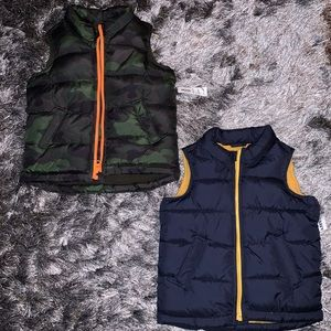 2 New With Tags Toddler Boy Frost Free Vest